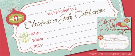 free printable christmas in july cards in july invitations 100 images personalized