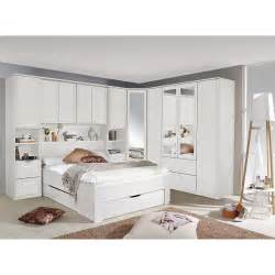 Bedroom System by White Overbed Wardrobe Systems Fitted Bedroom Furniture
