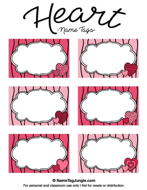 printable girly name tags 25 best ideas about name tag templates on pinterest