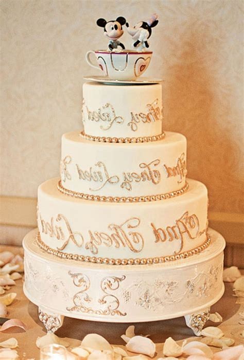 Disney Wedding Cake by Disney Wedding Cake Design Wedding Ideas For You