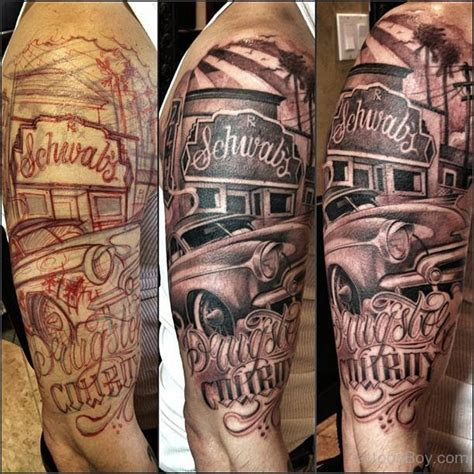 bankroll tattoo designs car tattoos designs pictures page 6