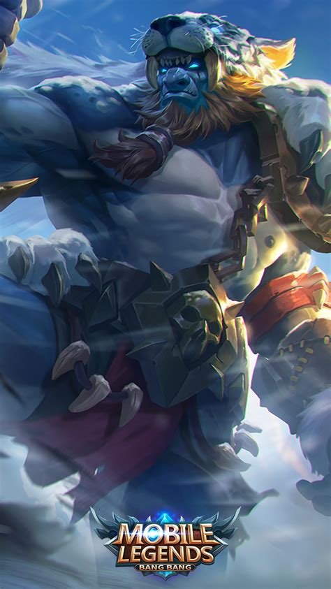 wallpaper mobile legend skin mobile legends balmond bestial might or barbaric might