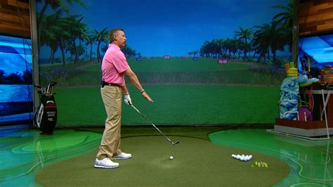 michael breed golf swing michael breed compares golf setup and impact positions