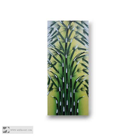 Lukisan Timbul jual lukisan bambu timbul ari lestawan