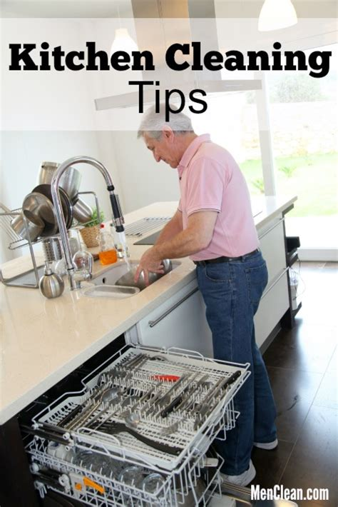 cleaning tips for kitchen 10 kitchen cleaning tips menclean com