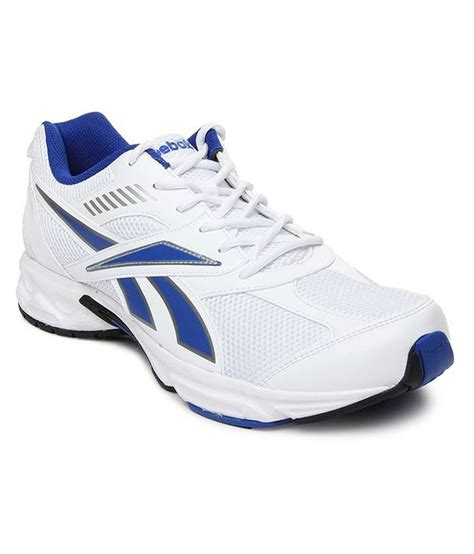 Reebok Running Abu No 42 reebok white sport shoes buy reebok white sport shoes