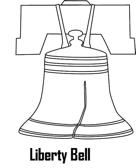 Liberty Bell Coloring Page Printable by Patriotic Liberty Bell Coloring Printables Coloring Pages