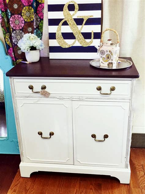 Painting Cherry Cabinets Antique White by Beautiful Side Server In Georgian Cherry And Antique White