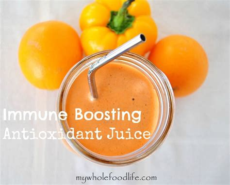 Immune Detox Juice by Immune Boosting Antioxidant Juice Drink This To Build