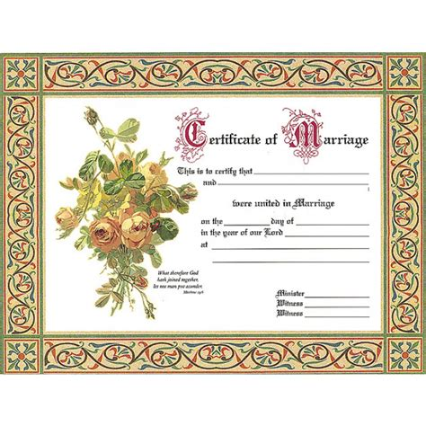 Harley Davidson Home Decor marriage certificate roses