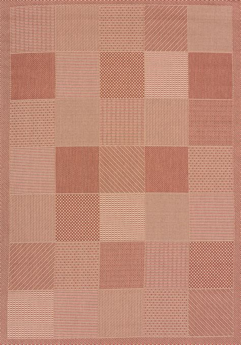 Outdoor Rug Sizes by Outdoor Patio Block Area Rug 5x8 Or 8x11 Sizes
