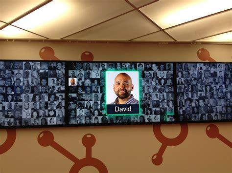 Office Wall Design hubspot face wall