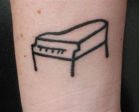 piano tattoos piano images designs