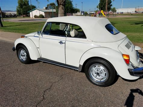 volkswagen beetle white convertible white 1976 volkswagen beetle convertible all