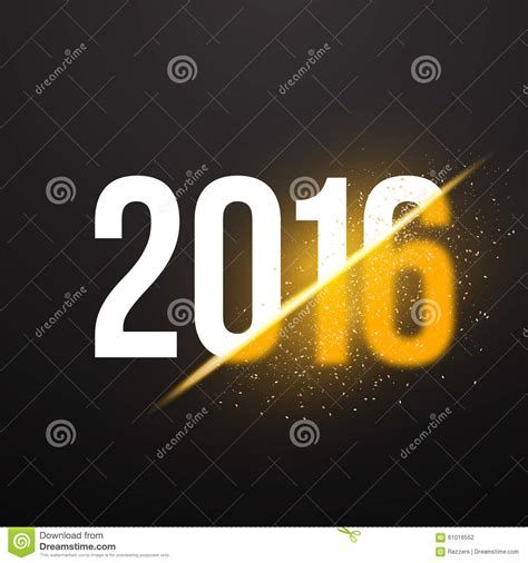 new year photo effect new year 2016 background with explosion effect stock
