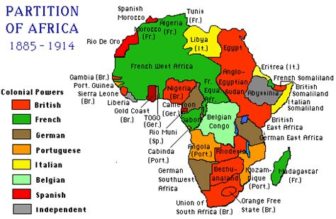 africa map imperialism mrshealyhistoryclass africa