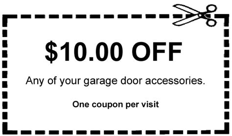 City Garage Coupons by Service Repair Maddock Doors