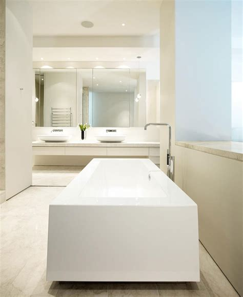 Modern Bathroom Australia Verdant Avenue Home In Melbourne Australia By Robert