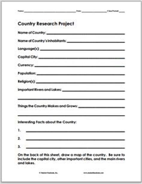Country Profile Template Emily Pinterest Template Profile And Geography Cultural Project Template