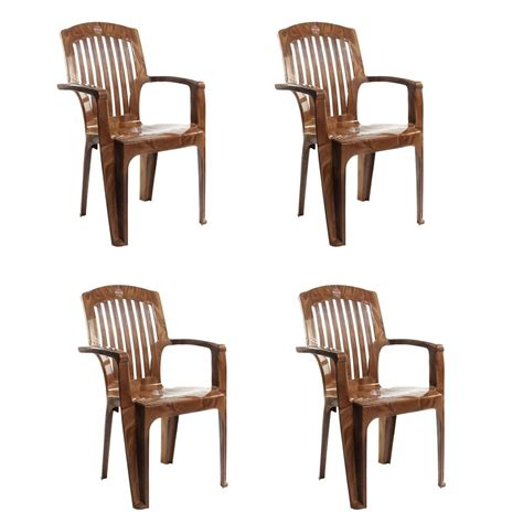 armchair commander cello commander high back chair in brown set of 4 75