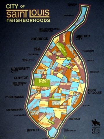 st louis neighborhood map top 24 ideas about stl on home you from and