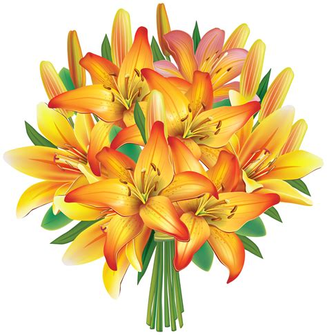 bouquet clipart bouquet clipart flower png pencil and in color bouquet