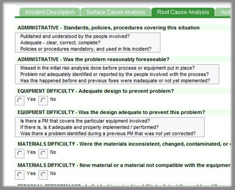 root cause report template sciences root cause analysis extraview