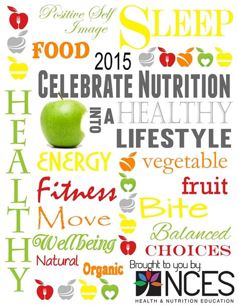 theme education month 2015 national nutrition month free download