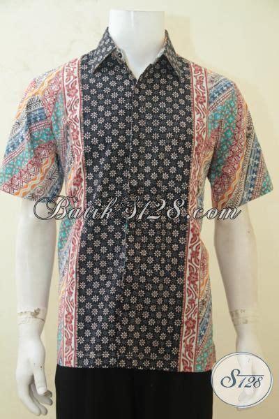 Baju Pria Pakaian Busana Kemeja Pendek Motif Batik Murah 11 kemeja lengan pendek berbahan batik cap tulis halus motif berkelas busana batik masa kini