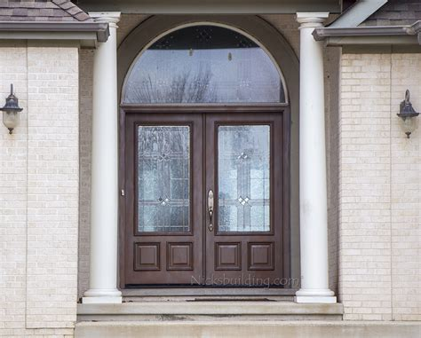 wooden glass doors exterior exterior doors solid mahogany wood doors