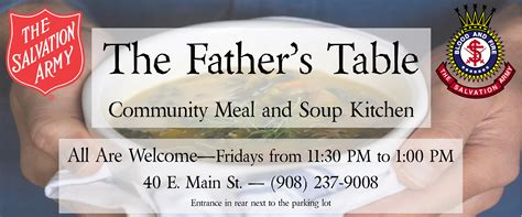soup kitchen volunteer bergen county nj the salvation army new jersey division soup kitchen