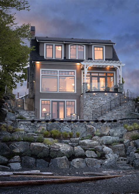 modern home design victoria bc contemporary luxury french country house oak bay victoria