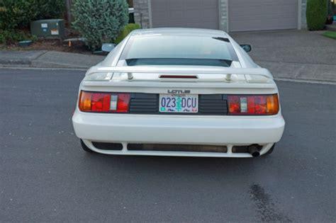 auto air conditioning repair 1991 lotus esprit electronic throttle control 1991 lotus esprit turbo se for sale in portland oregon united states