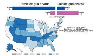 Hit The Floor Insanity - gun deaths shaped by race and geography in america daily mail online