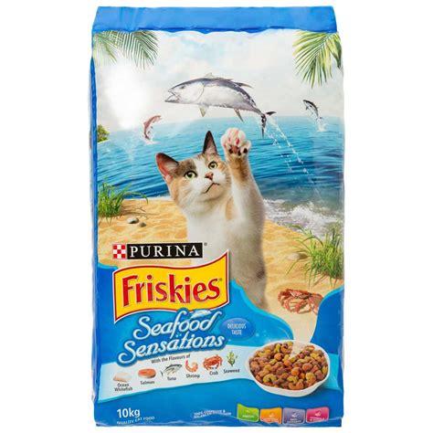 Friskies Seafood Sensation 12kg Cat Food For friskies seafood sensations 10kg