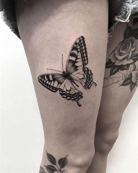 butterfly tattoo in legs best 20 thigh tattoo designs ideas on pinterest tattoo