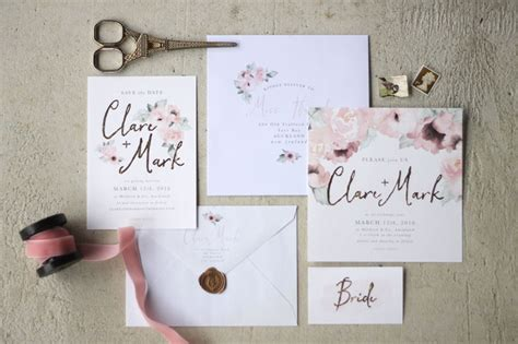 Stationary Wedding by Wedding Stationery Just My Type
