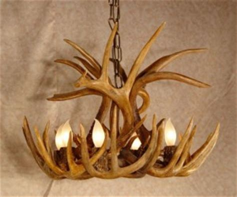 Whitetail Deer Antler Chandelier How To Make An Antler Chandelier