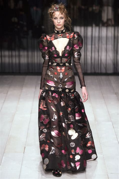 Look Kimono Dresses Couture In The City Fashion by Mcqueen 2016 Fall Winter