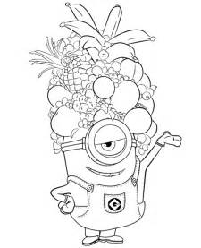 minions colouring 24 print color free