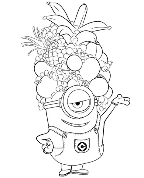 Coloring Page 24 by Minions Colouring Page 24 To Print Or For Free