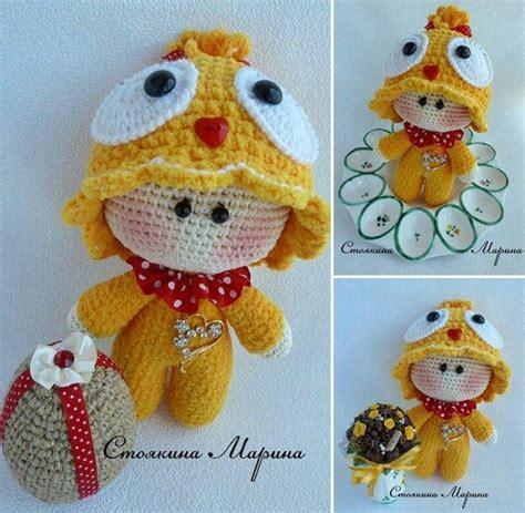 amigurumi head pattern exclusive knitting big head little doll pinterest