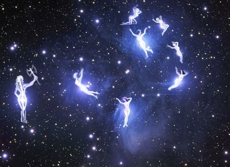 pleiades the seven sisters picture pleiades the seven