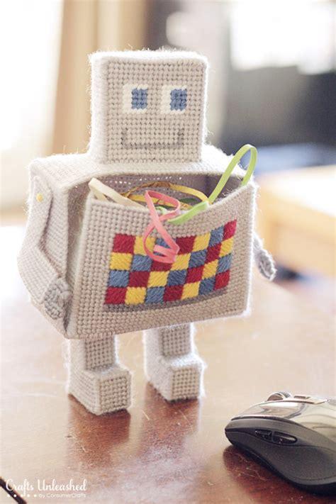craft desk organizer robot craft diy desk organizer tutorial