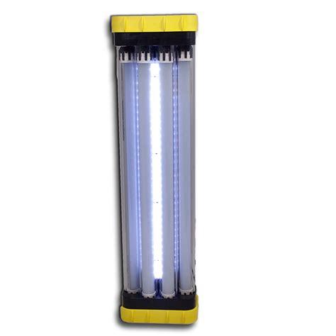 wake up light with battery backup led quad light 40 watt 5 000 lumen battery back up