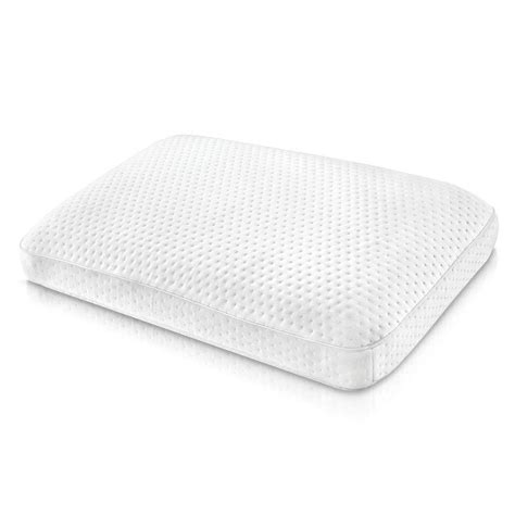 oversized bed pillows biopedic extreme luxury gusseted oversized memory foam bed