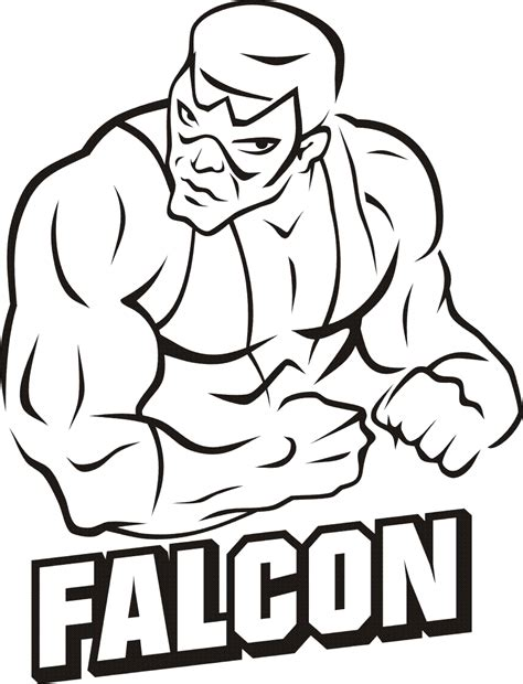 avengers coloring pages falcon falcon marvel coloring pages coloring pages