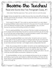 Five Paragraph Essay by Tips For Teaching Grading Five Paragraph Essays The