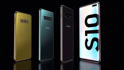 samsung galaxy s10 revealed everything you need to