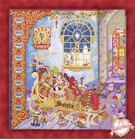 Santa Quilt by Santa S Loading Dock Quilt Book